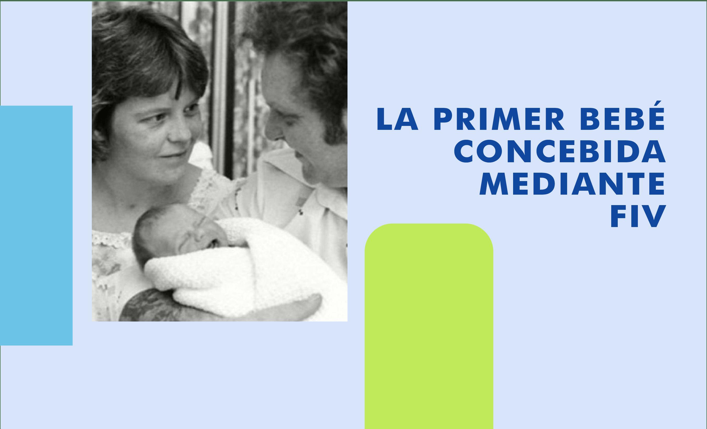 Louise Brown bebé In Vitro con papas