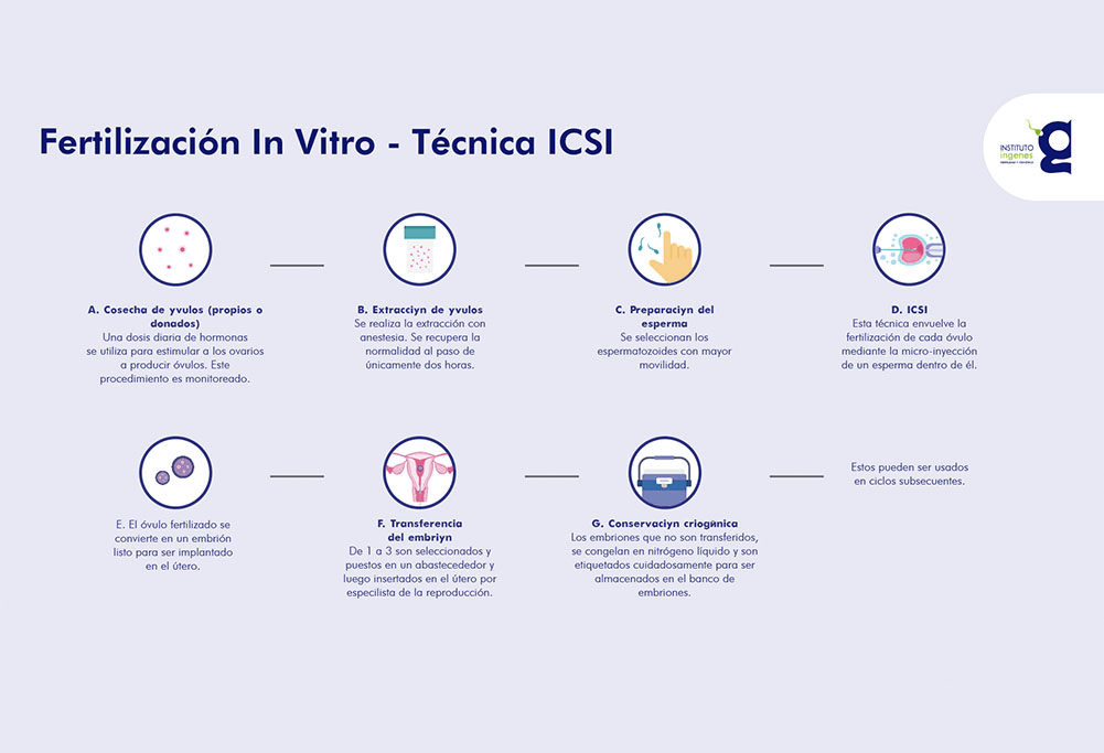 Fertilización in vitro con ICSI